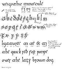 cursive letters font cal carolingian minuscule font fonts 1175