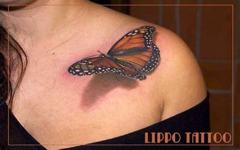 tato kupu kupu 3dimensi 10 tato tiga dimensi ini terlihat sungguhan wow menariknya