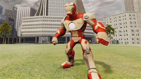 disney infinity iron man mark gameplay