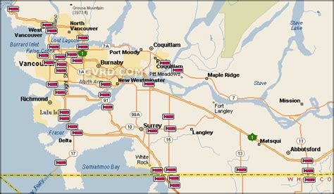 map of greater opinions on greater vancouver