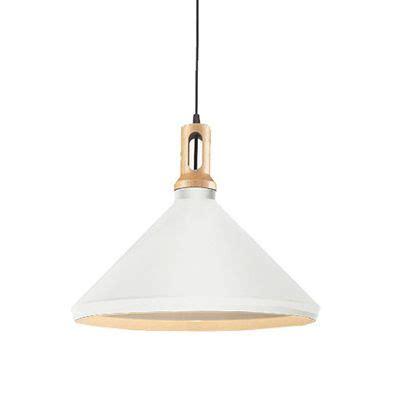 matt cone scandinavian pendant light design