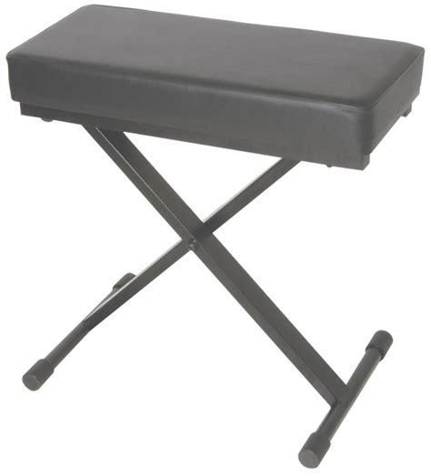 folding piano bench heavy duty deluxe folding x frame keyboard bench stool