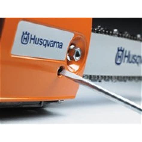 Husqvarna 435 Kettenschmierung Einstellen by 231 Onneuse Thermique Semi Professionnelle T435 Guide