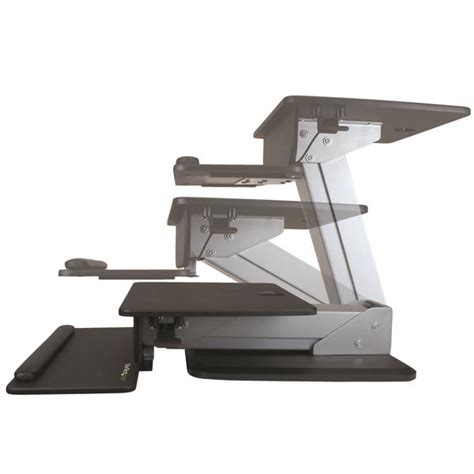 Stand To Sit Desk Sit Stand Workstation Display Mounting Startech