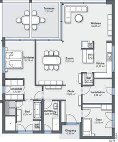 House Plans Bungalow weberhaus bungalow floor plan h 228 user pinterest