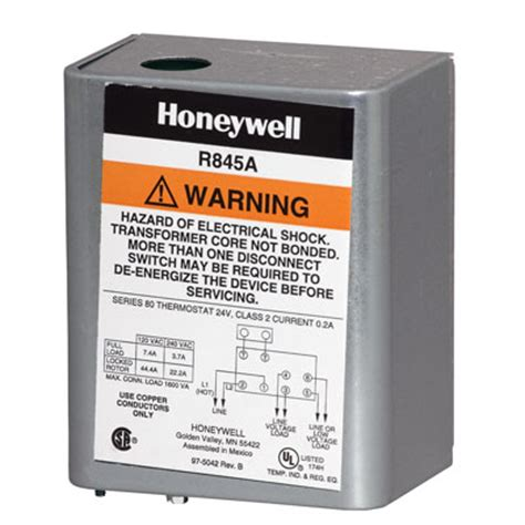 honeywell r845a relay wiring diagram 1030 honeywell
