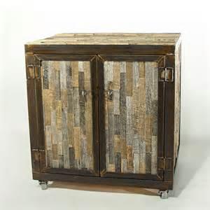 reclaimed barn wood bed cabinet daniel goods