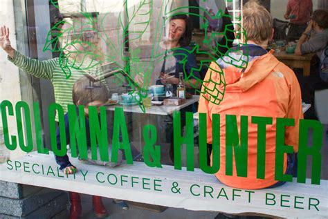 At Colonna & Hunter, The Dashing New Coffee & Beer Destination In Bath