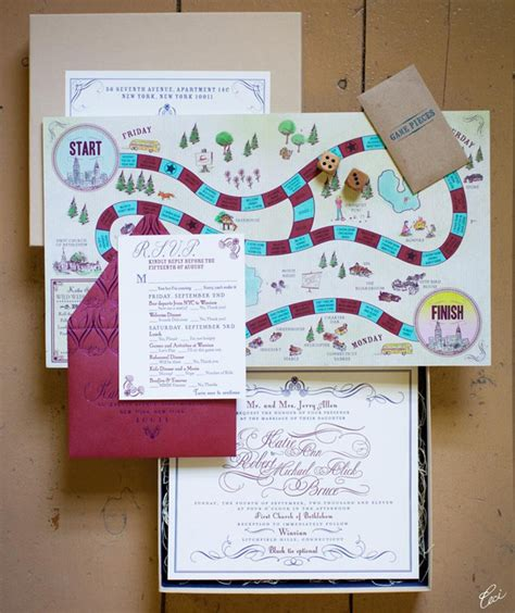 wedding invitation design games 009 unique creative wedding invitations southboundbride