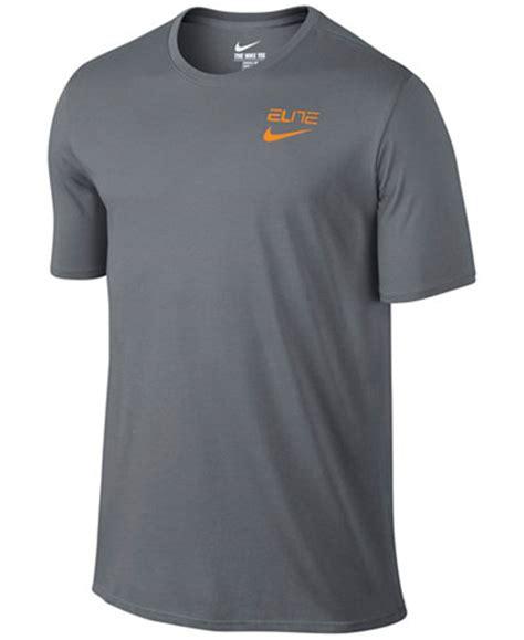 T Shirt Kaos Cotton Combed 30s Nike Elite Big Size Xxxl 3 nike s elite back stripe dri fit basketball t shirt t shirts macy s