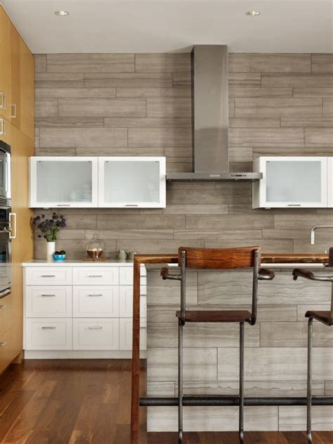 Charleston Kitchen Cabinets by Wood Tile Backsplash Houzz