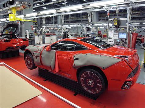 ferrari factory ferrari factory assembly line tour