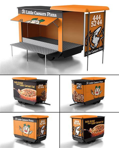 pizza food truck design little caesars pizza food truck design on pantone canvas