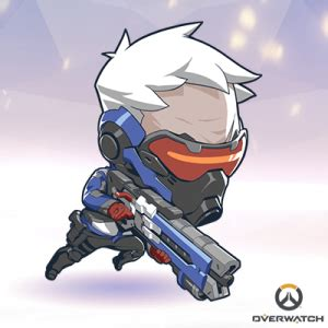 "overwatch releases ""cute but deadly"" avatars geek girl"