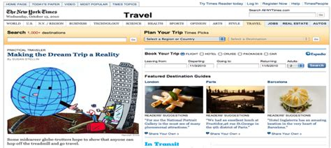 nyt travel section the best newspaper travel sections enduring wanderlust