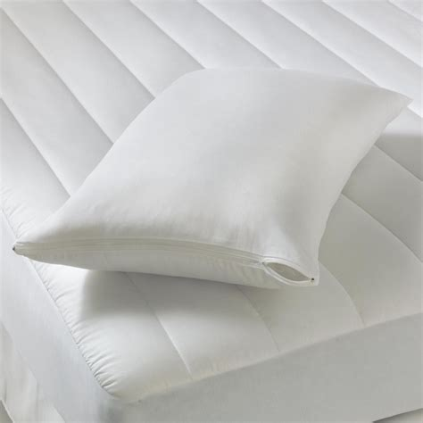 Teflon Pillow by Teflon Zip Up Pillow Cover Protect Your Pillow With Sears
