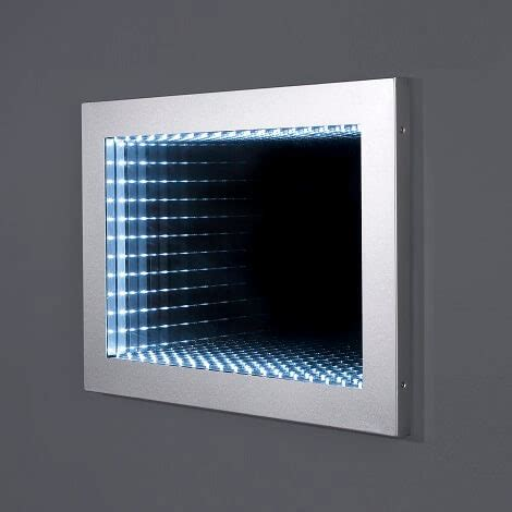 bathroom infinity mirror moods galaxy designer illuminated infinity 3d bathroom mirror 500mm x 700mm rpr108