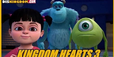 theme line monster inc inwepo monsters inc coming to kingdom hearts 3 reactions