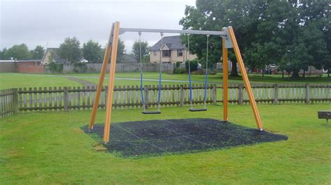 Swing In The by New Swings At Ladywell Park Bannockburn Scotland