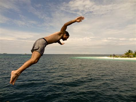 jump boat definition photo friday taking the plunge the caribbean sea
