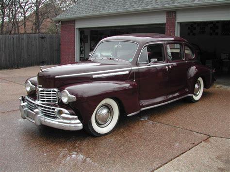1946 lincoln zephyr 1946 lincoln sedan lincoln zephyr hemmings motor news