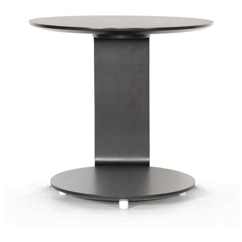c shaped accent table baxton studio 174 woodard c shaped end table 234635