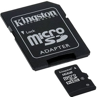 Micro Sd 16gb Kingston kingston micro sd card 16gb with sd adapter xmods