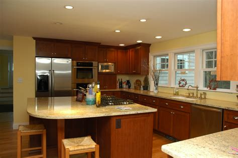 Kitchen Designs With White Cabinets And Granite Countertops by Some Tips For Custom Kitchen Island Ideas Midcityeast
