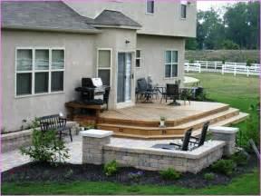patio deck backyard patio ideas deck design home design ideas