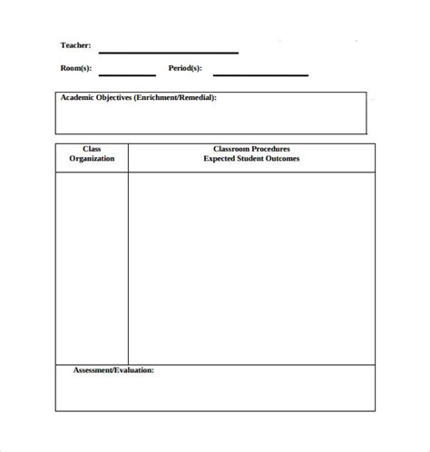 physical education lesson plan template sle physical education lesson plan 14 exles format