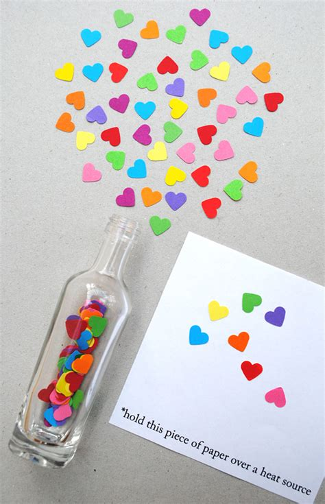 message in a bottle valentines gift be different act normal invisible ink message in a