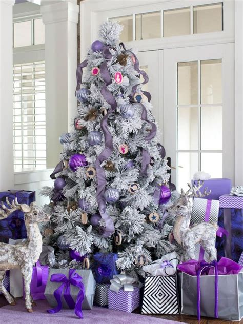 top purple christmas decorating ideas christmas celebrations