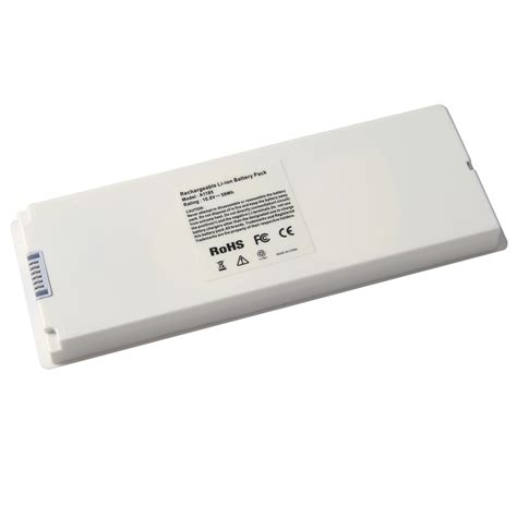 Baterai Laptop Macbook White new laptop battery for apple macbook 13 quot 13 3 inch a1181 a1185 ma561 ma566 white ebay
