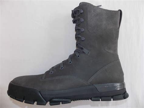 nike air nevist 9 premium acg boots new mens grey 472833