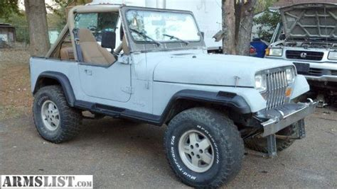 1989 Jeep For Sale Armslist For Sale Trade 1989 Jeep Wrangler 4x4 4 2 6cyl