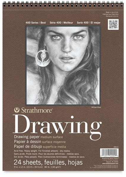 sketchbook strathmore 10316 1003 strathmore 400 series drawing paper pads