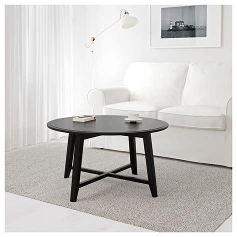 Ikea Coffee Table Black Kragsta Coffee Table Black 90 Cm Ikea