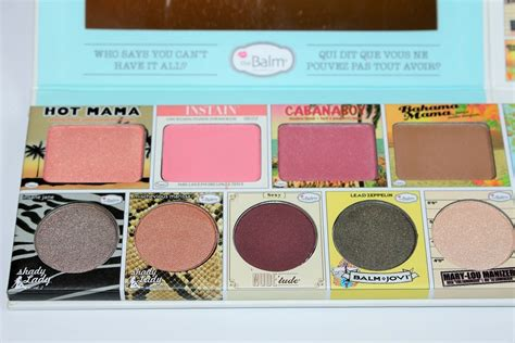 The Balm In Thebalm Of Your thebalm in thebalm of your palette review swatches really ree