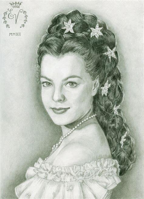 austrian hair gallery romy schneider as austrian empress elisabeth sissi by