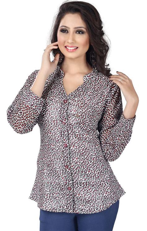 shirt pattern kurtis front cut kurti style shirts chinese collar design of long