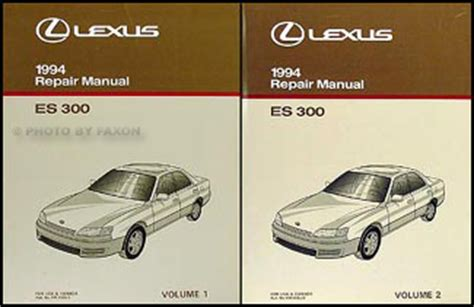 auto manual repair 1994 lexus es parking system 1994 lexus es 300 wiring diagram manual original