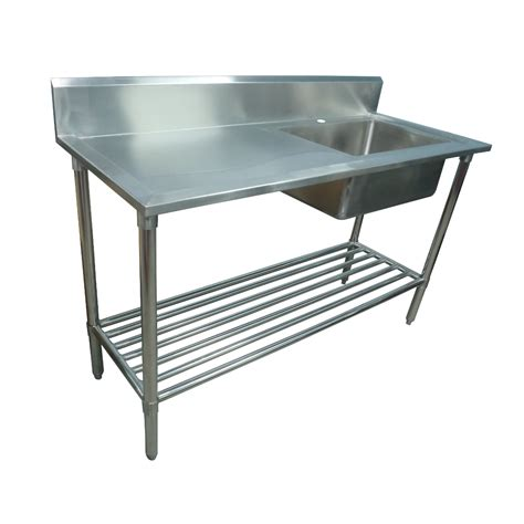stainless steel bench sink stainless steel bench with sink 28 images stainless steel double sink bench 2400 x