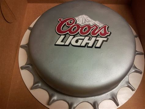 coors light bottle cap cake the of the house