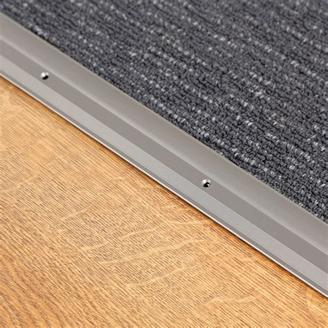 add2 laminate flooring threshold transition cover strip steel 90cm ebay