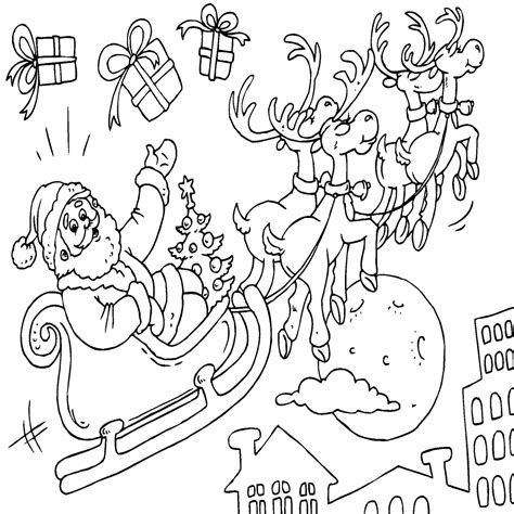 imagenes de santa claus para colorear dibujos de navidad para colorear chicalia