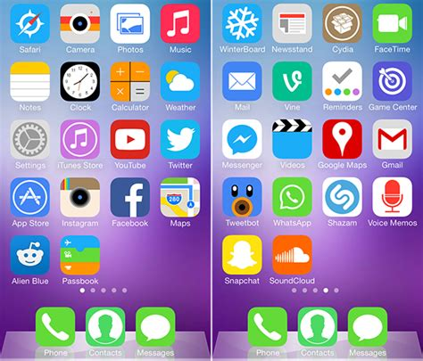 themes for iphone ios 7 the best winterboard themes for ios 7