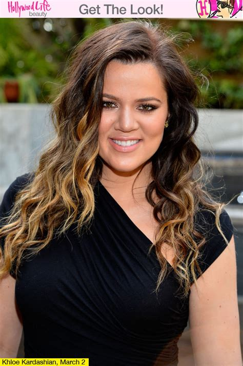 Khloe Kardashians Ombre Hair Expert Tips To Get The Look | khloe kardashian s ombre hair expert tips to get the