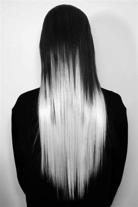 bottom half of hair dyed 1000 ideas about half dyed hair on pinterest white hair