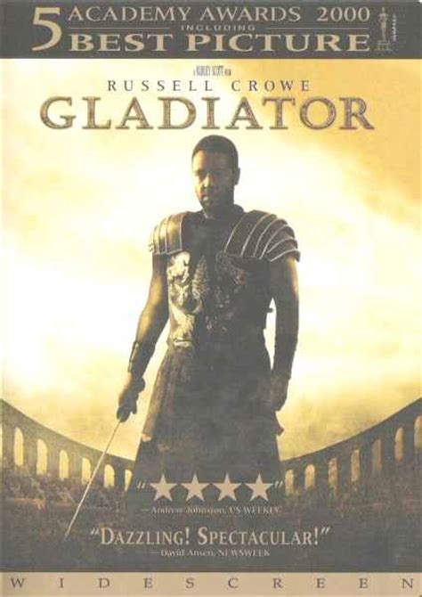 gladiator film book gladiator