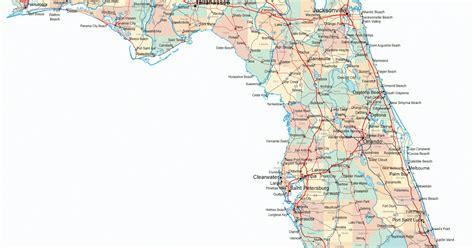 highway map of florida 50 maps florida highway map